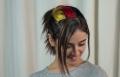 كاس العالم 2014: تسريحات شعر سهله مع علم المانيا