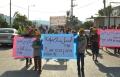 حركة الشبيبة في  الكعبية  تتظاهر ضد شارع الموت !
