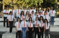 تخريج 84 زهرة من طلاب السوادس في مدرسة ترشيحا الابتدائية