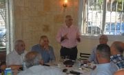 المدير العام لبنك مركنتيل ومدير منطقة الناصرة يلتقيان العشرات من أصحاب المصالح في الناصرة