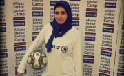 شاهدوا: المصرية ياسمين محمد تنافس مهارات ميسي