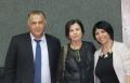 رئيسة حزب ميرتس زهافا جالون في زيارة لبلدية الناصرة
