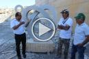 اختتام مهرجان النحت في حرفيش: صلابة الصخر كصلابة المجتمع