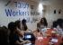 عنوان العامل تقدم محاضرة عن حقوق العمال لمركز الريان للتوجيه المهني والتشغيل