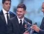 ميسي يتوج بجائزة افضل لاعب في اوروبا لعام 2015