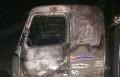 حرفيش: إحراق شاحنتين والشرطة تحقق