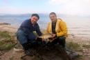 انطلاق مسابقة افضل صياد سمك على شواطئ بحيرة طبريا