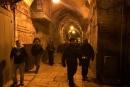 إغلاق شوارع في البلدة القديمة من القدس لتأمين مسيرة للمستوطنين