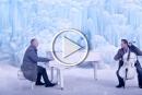 شاهدوا: عزف موسيقي دافئ وسط جبال من الثليج والصقيع!