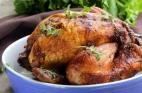 طريقة عمل دجاج مشوي بالفرن