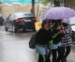 أمطار وعواصف ورياح وسيول في المناطق المنخفضة من الضفة