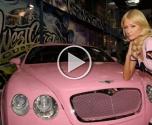 باريس هيلتون عاشقة السيارات الفاخرة