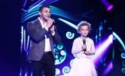غيرك ما بختار لـمحمد رشاد والطفلة سييل طويل في Arab Idol