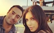 منتج سعودي يقضي يوماً مع كيم كارداشيان على اليخت في دبي