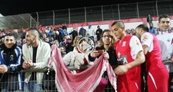 لاعبو سخنين يهدون الفوز للمجتمع العربي عامةً