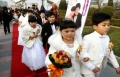7 ازواج من الأقزام يتزوجون في بكين