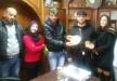 د. الياس سوسان من الرامة يزور جمعية الحياة للصم ببيت لحم