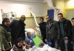مجلس الطلاب في الكلية الاهلية يقوم بزيارة للطفل احمد الدوابشة في مستشفى تل هشومر