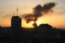 اسرائيل تقصف غزة دون اصابات