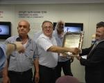 وفد بلدية الطيرة يزور مؤسسة يد سارة في القدس