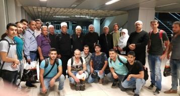 14 طالبا و 5 مرضى من الجولان المحتل يتوجهون لدمشق مؤكدين: هذه رسالة