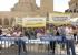 القدس: مظاهرة احتجاجاً على سياسة التمييز الاسرائيلية ضد المدارس المسيحية