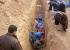 انتشال جثة 470 جندي عراقي قتلتهم داعش بقاعدة سبايكر