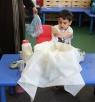 الناصرة: أطفال روضة الزمردة يتعلمون تحضير اللبنة العربية
