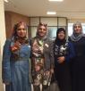 مسعود غنايم يستقبل مجموعة نساء المجدمن سخنين في الكنيست