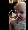 طفلة تغني قبل أن تتكلم!