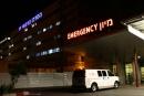 مستشفى صفد : وصول مصاب سوري بعد اصابته بشظايا