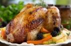 دجاج مشوي بالصويا والزعتر من مطبخ بكرا
