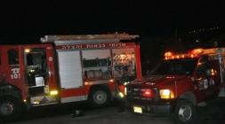الناصرة: إصابة شخصين اثر انفجار أنبوبة غاز بمحل تجاري