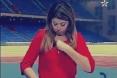 مذيعة مغربية تتعرض لموقف محرج على الهواء بسبب ملابسه