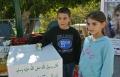 طوبا زنغرية تتبرع بمبلغ 87,140 شيكل للاجئين في غزة وسوريا