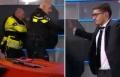 بالفيديو: اقتحام مسلح لقناة تلفزيونية هولندية على الهواء