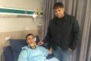 بعد اصابته البالغة، صحة اللاعب الكناوي سعيد امارة تتحسن