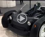 أول سيارة كهربائية مصنوعة بطابعة ثلاثية الأبعاد
