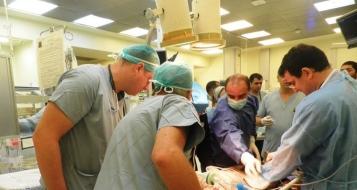 مستشفى بوريا : وصول جريح سوري بحالة خطيرة