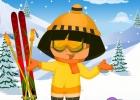 لعبة تلبيس دورا الملابس الشتوية