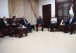الرئيس ابو مازن يستقبل وفدا اسرائيليا في رام الله