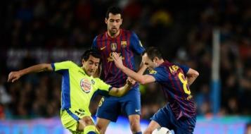 مباشر من الدوري الإسباني : برشلونة Vs خيتافي