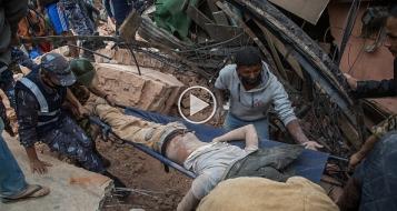 زلزال نيبال: ارتفاع عدد الضحايا الى 1850 واسرائيل ترسل بعثة انقاذ