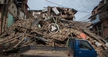 حصيلة ضحايا زلزال نيبال ترتفع لـ2450