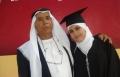 سناء ابو غنيم اول خريجة في كسيفه للعلاج الطبيعي