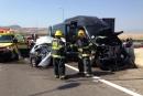 حتسور الجليلية: اصابة 11 طفلا في حادث طرق بين سيارتين