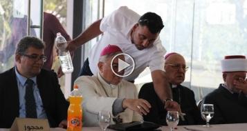 الناصرة: رجال دين وأعمال عرب يشاركون بمؤتمر الغرفة التجارية لدعم القدس