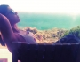 بالصور .. هيفاء وهبي تستجم قرب الشاطئ