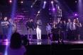 Arab Idol - محمد عساف والمشتركين ميدلي وطني