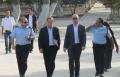 رداً على زيارة الحمد الله: رئيس بلدية القدس يقتحم الاقصى